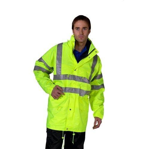 Click CARSYXXL Hi Vis Yellow Carnoustie Waterproof Jacket XXL