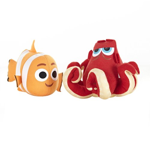 Zoggs Kids Nemo and Hank Soaker Pool Toys, Safe for Above 3 Months- Orange/Red