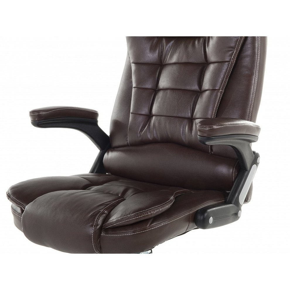Royal Comfort Office Chair Royal. Office Chair   Computer Swivel Brown  Synthetic Leather ROYAL II