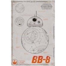 Star Wars Episode 7 Bb-8 Maxi Poster
