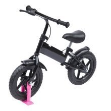 "Homcom 12"" Kids Learner Balance Bike Training Bicycle with Brake"