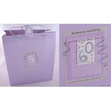 Diamond Wedding Gift Bag by Hooli Mooli accessories