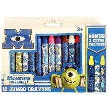 Disney*Pixar Monsters University 12 Jumbo Crayons