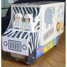 MELISSA & DOUG ANIMAL RESCUE SHAPE SORTING TRUCK (Set of 6)