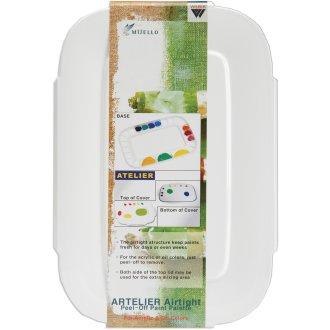 "Airtight Peel-Off Palette-3.5""X9.125"" - 24 Cavity"