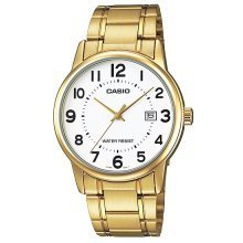 Casio Gold-Tone Stainless Steel Ladies Watch LTP-V002G-7B