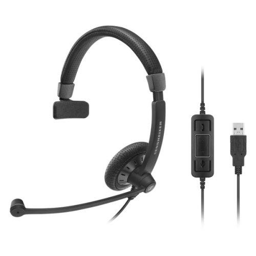 Sennheiser SC 40 USB CTRL BLACK Monaural Head-band Black headset