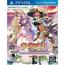Shiren: Wanderer Tower of Fortune and Dice of Fate PS Vita Game