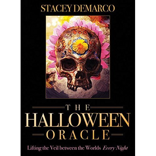 Halloween Oracle: Lifting the Veil between the Worlds Every Night, 36 colour cards & 80-page guidebook