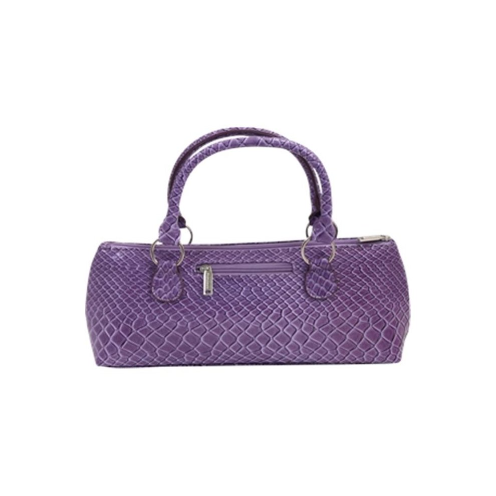 Picnic Gift 3021 Pp Wine Clutch Insulated Single Bottle Tote Purple Burmese