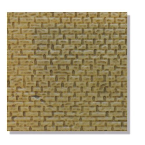 Stone Walling (2 Sheets) - OO/HO building kit - Peco LK-40 - free post