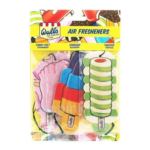 Car Air Fresheners Walls Ice Cream Twister Tropical Funny Feet Starship