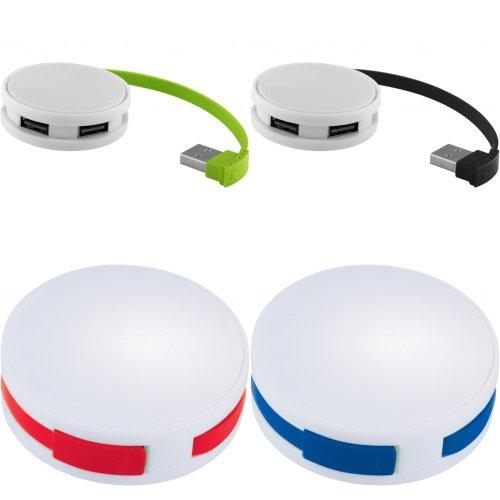 Bullet Round USB Hub