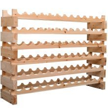 Homcom 72 Bottle Wine Rack Holder