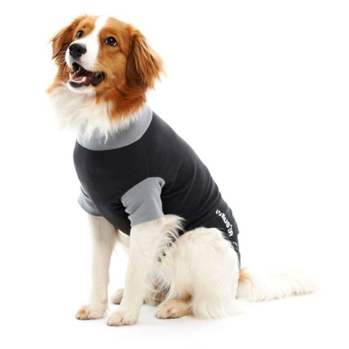 Buster Body Suit Easy Go For Dogs Black/grey L62cm Xlge