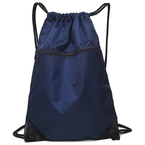 Drawstring Bag Unisex Gym Bag Sport Rucksack Shoulder Bag Hiking Backpack #8
