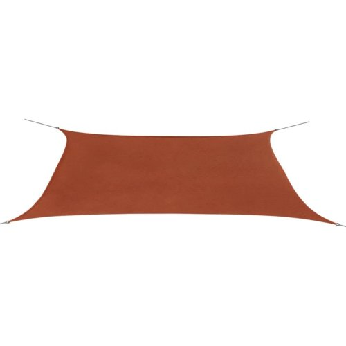 vidaXL Sunshade Sail Oxford Fabric Rectangular 4x6 m Terracotta