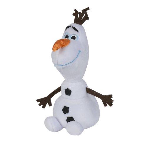 SIMBA 6315874750 20 cm Disney Frozen - Olaf Refresh Snowman Plush Figure
