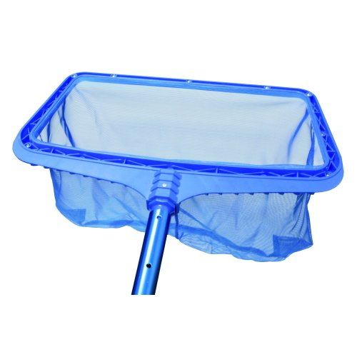 Steinbach removing leaves from swimming pools Ground Net Reinforced Plastic Frame Attachment Telescopic Rod, Blue, 515 x 235 x 410 MM