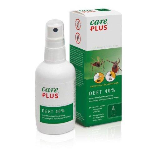 Care Plus 32983 40% DEET Anti Insect & Mosquito Repellent Spray 60ml