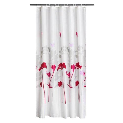 12 Hook Meadow Design Shower Curtain