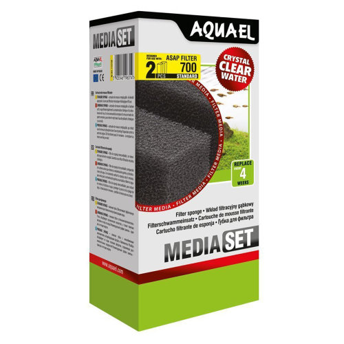 Aquael ASAP 700 Replacement Sponge Standard x2