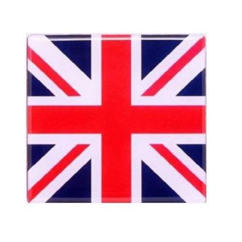 Union Jack Fridge Magnet Great Britain Square UJ GB UK London Souvenir Gift Flag