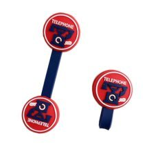 [Phone] 4pcs Cute Earphone Cable Winder Wire Organizers