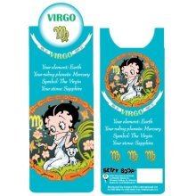 Betty Boop Virgo Bookmark