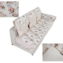 Pastorable Floral Sofa Slipcovers Cushion 110x210cm [Blossoming Flowers]