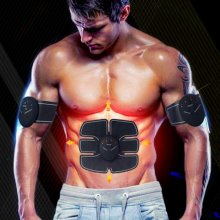 Fit Pad Belt Smart Body Shaper Abdominal Muscle Fitness Building Equip