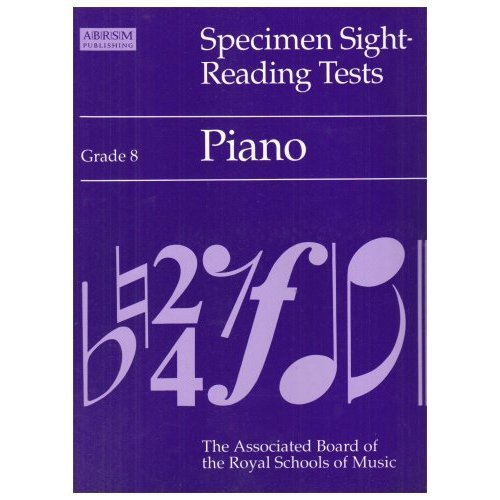 Specimen Sight-reading Test for Piano: Grade 8