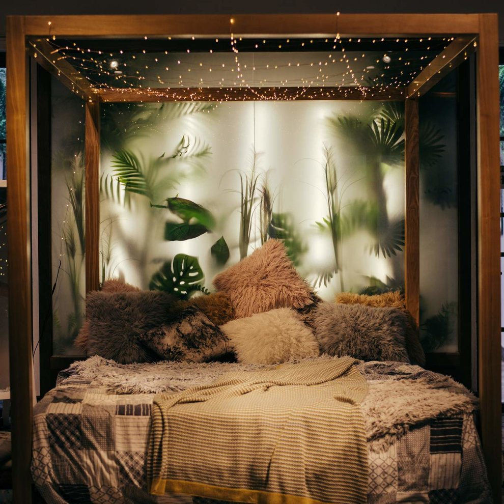 Micro Fairy Lights 100 Led 10m Warm White Indoor Christmas Festive Wedding Bedroom Novelty Decorations