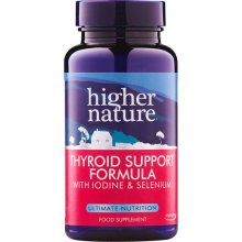 Higher Nature  Thyroid Support Formula Capsules 60s