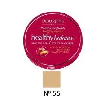 Bourjois Healthy Balance Unifying Face Powder - 55 Dark Beige