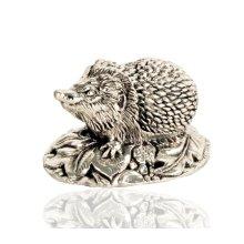 925 Sterling Silver Hedgehog Figure - British Hedgerow Animals.