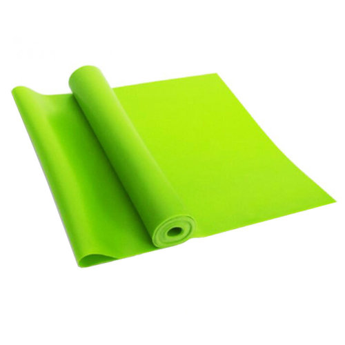 Natural Material Plastic Thin Yoga Belt Exercise Belt-Green