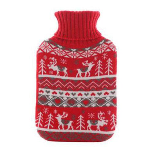 Warm Cute Hot-Water Bottle Water Bag Water Injection Handwarmer Pocket Cozy Comfort,I