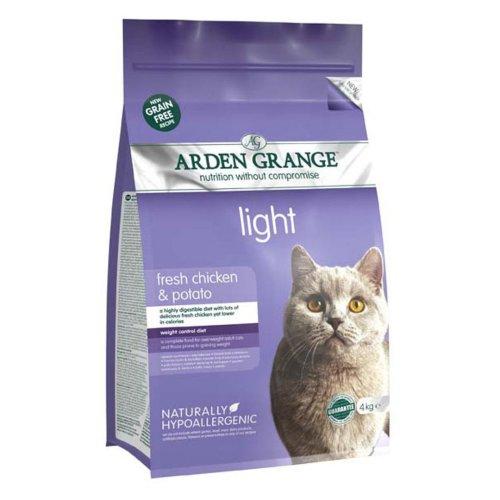Arden Grange Grain Free Cat Light With Fresh Chicken & Potato 4kg