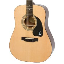 Epiphone DR-100 Dreadnought Acoustic Guitar, Natural