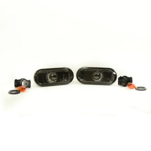 Vw Fox 2006-> Crystal Smoked Side Repeaters 1 Pair