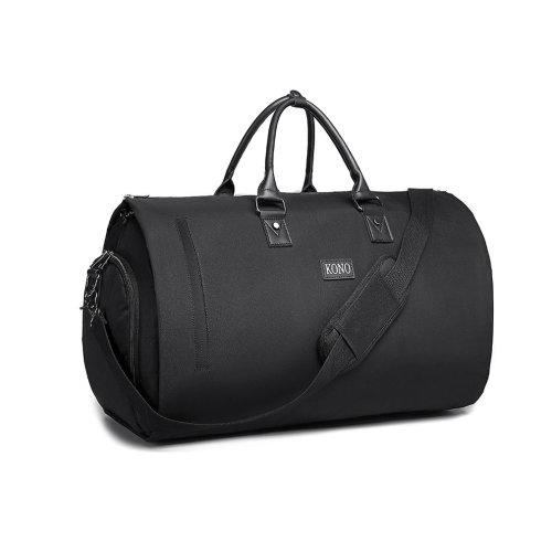 37aecb018abc Kono Convertible Garment Bag Multifunctional Travel Duffel Storage Bag