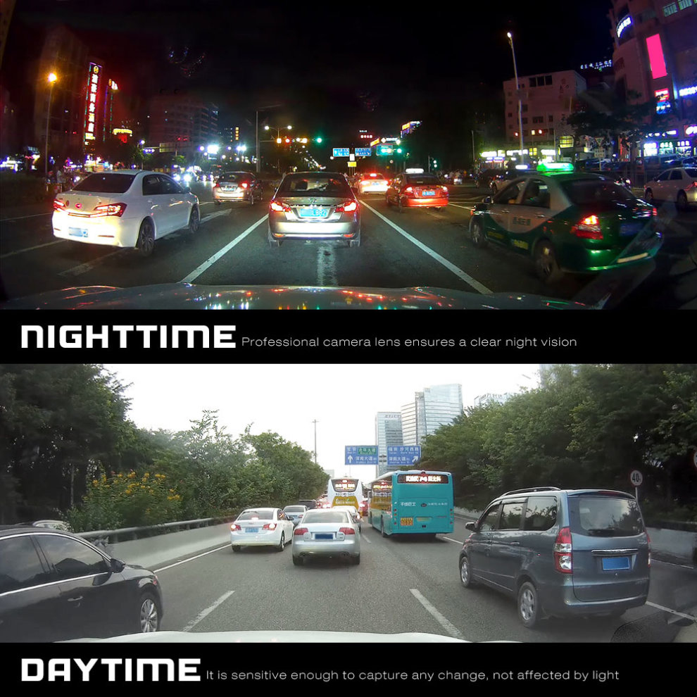 WiFi Dash Cam App WDR Car Driving Recorder