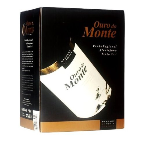 "Red Wine Alentejo ""Ouro do Monte"" BAG-IN-BOX - 2 x 5 Lt"
