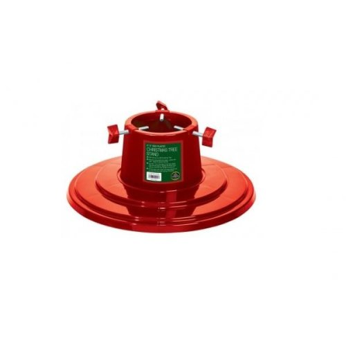 "4"" / 5"" Plastic Christmas Tree Stand Red"