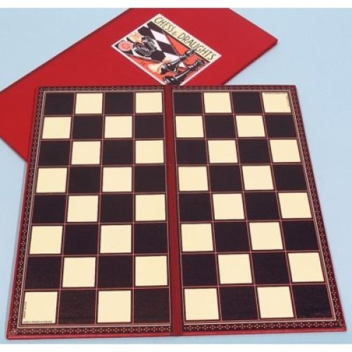 Kent & Cleal Chess Board - 40cm | Folding Chess Board