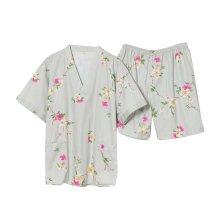 Stripe Pattern Short Pajamas Suit Men Pajamas Suit Home Wear Khan Steam Clothes