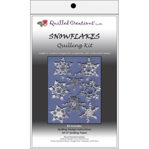 Quilled Creations Quilling Kit-Snowflakes