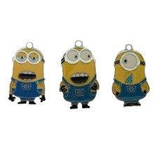 Minions Keychains - Set of 3