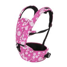 Multifunctional Baby Carrier Waist Stool Strap Carrier,Painted Design Pink